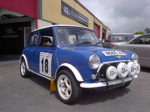 1996 MINI COOPER GRP A RALLY CAR 1.3I 2DR HATCH For Sale (picture 3 of 6)