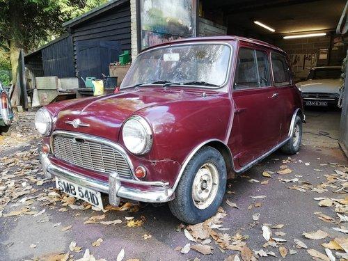 1966 Mini Mk1 SOLD (picture 1 of 6)