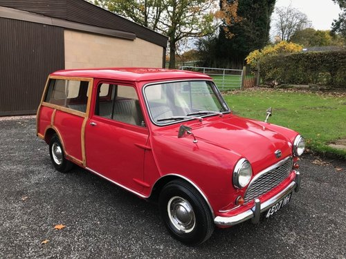 1960 AUSTIN SEVEN MINI WOODY 2ND OLDEST PRE PRODUCTION RARE! SOLD (picture 1 of 6)