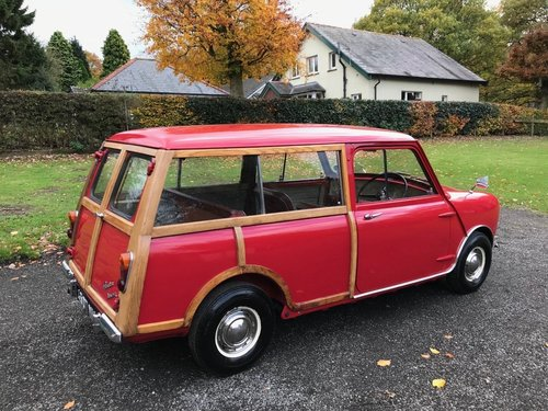 1960 AUSTIN SEVEN MINI WOODY 2ND OLDEST PRE PRODUCTION RARE! SOLD (picture 3 of 6)