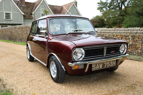 1970 Clubman 1275GT In Wonderful Condition (Wood & Pickett) SOLD (picture 1 of 6)