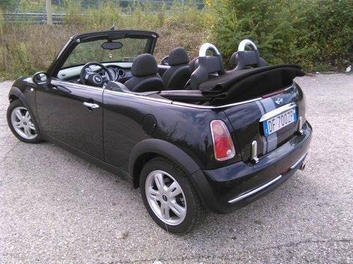 2007 Mini One 1.6 16v cabrio For Sale (picture 5 of 6)
