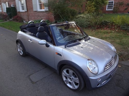 2006 Mini cooper convertible  SOLD (picture 1 of 6)