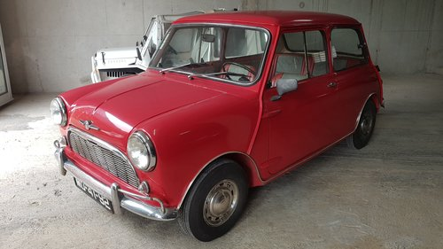 1963 Mini Minor Super-Deluxe  -  Original & Unmolested SOLD (picture 2 of 6)