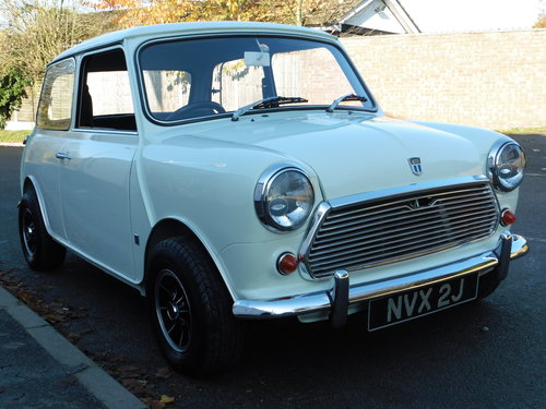 1971 Morris Mini Cooper S MK111 UK RHD Exceptional Condition For Sale (picture 2 of 6)