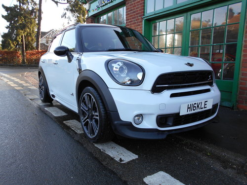 2014 Mini Countryman Cooper Diesel ALL-4 Automatic JCW   SOLD (picture 2 of 6)