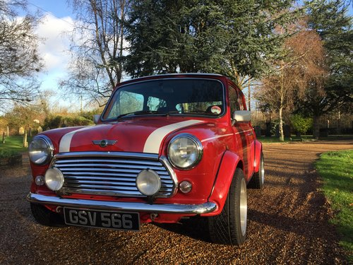 1997 Outstanding Mini Cooper S 1.3i 1 OWNER Example For Sale (picture 1 of 6)