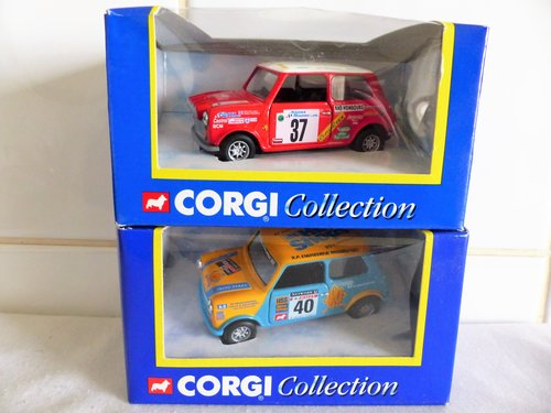 2 MINI COOPERS-HSS HIRE & MONTE CARLO-1:43 SCALE For Sale (picture 2 of 6)