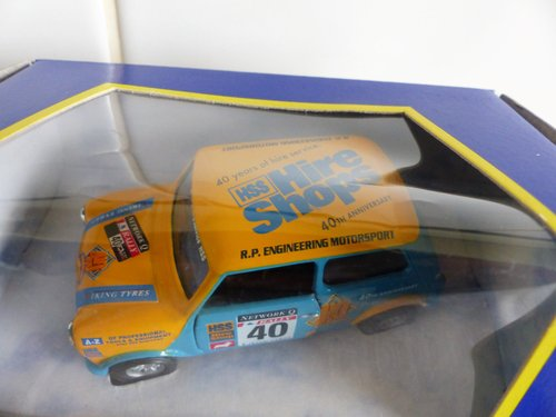 2 MINI COOPERS-HSS HIRE & MONTE CARLO-1:43 SCALE For Sale (picture 4 of 6)