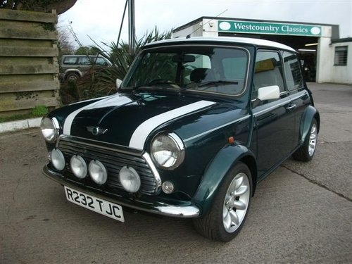 1997 Mini Cooper Sport, 54k, 3 owners SOLD (picture 1 of 6)