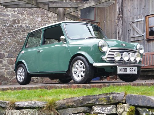 1996 Unique Mini Cooper 35. 1 of 200 On Just 14800 Miles From New SOLD (picture 2 of 6)