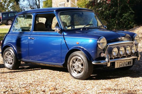 1999 Stunning Rover Mini 1.3 MPI In Tahiti Blue SOLD (picture 1 of 6)