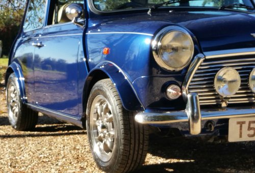 1999 Stunning Rover Mini 1.3 MPI In Tahiti Blue SOLD (picture 2 of 6)