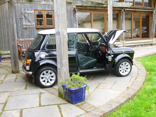 1998 Very Rare Black Cooper Sport LE 1 Of 50 Ever Made!! SOLD (picture 2 of 6)