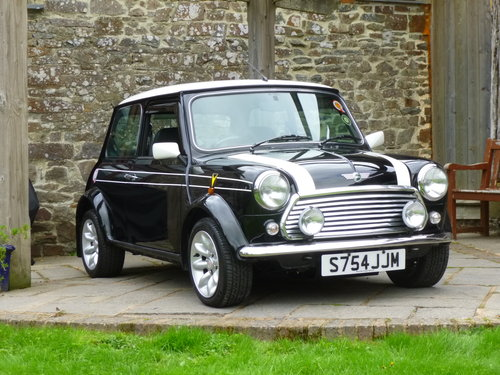 1998 Very Rare Black Cooper Sport LE 1 Of 50 Ever Made!! SOLD (picture 4 of 6)