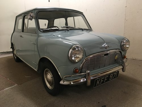 1961 Mini fully restored  For Sale (picture 1 of 6)