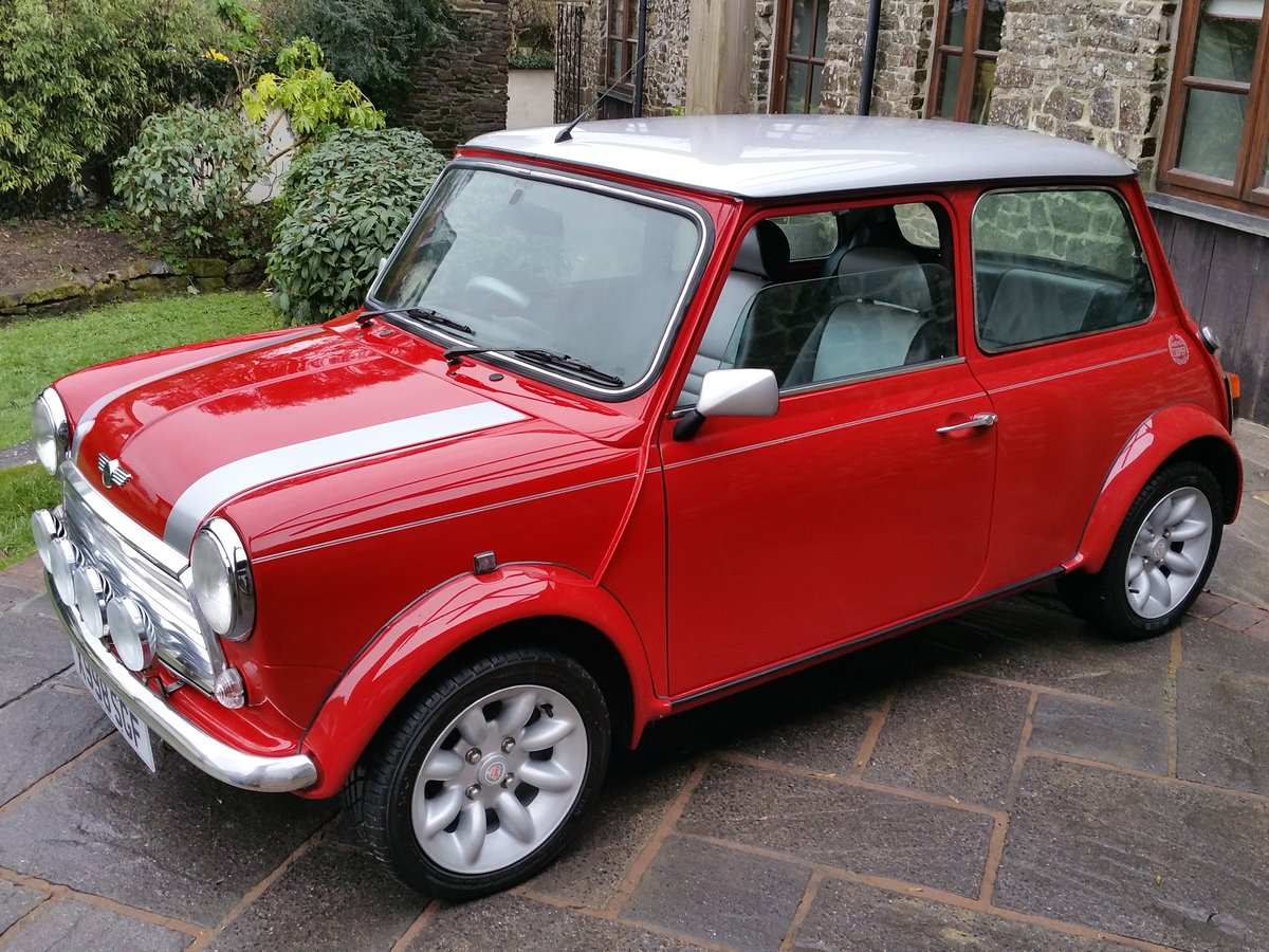 2000 Mini Cooper Sport On Just 16700 Miles From New SOLD (picture 1 of 6)
