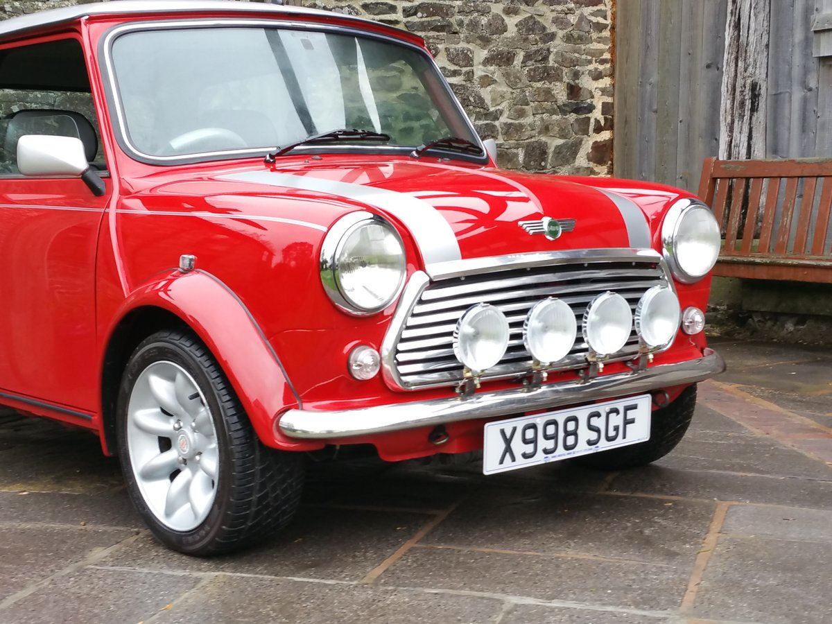 2000 Mini Cooper Sport On Just 16700 Miles From New SOLD (picture 2 of 6)