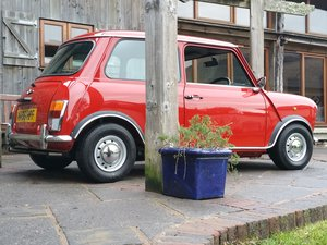 1994 'Time Warp' Condition Mini Sprite With 70's Cooper S Styling For Sale