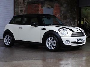 2008 Mini Hatch Cooper 1.6 3DR Chili Pack SOLD