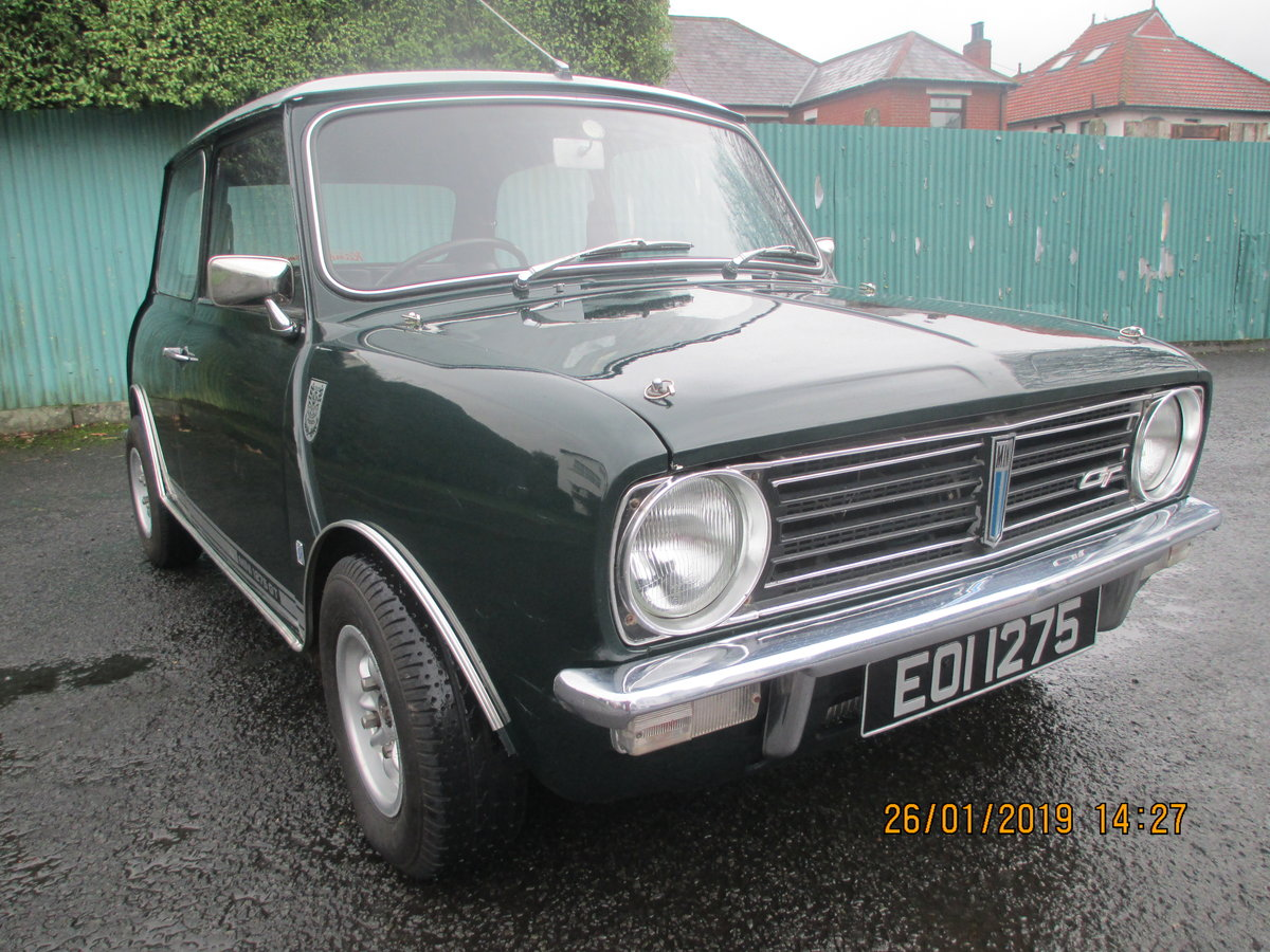 1972 MINI 1275 GT WITH 1275 REG NO For Sale (picture 1 of 6)