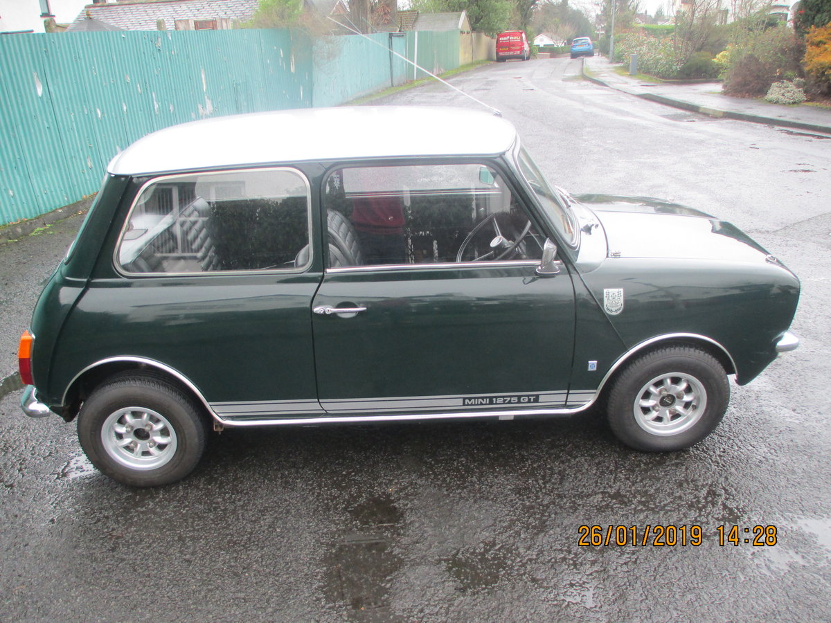 1972 MINI 1275 GT WITH 1275 REG NO For Sale (picture 2 of 6)