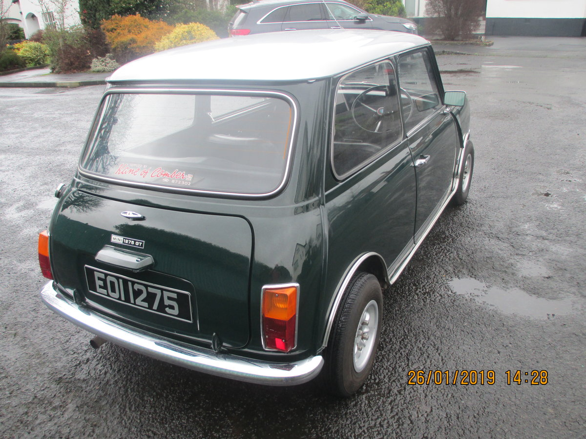 1972 MINI 1275 GT WITH 1275 REG NO For Sale (picture 3 of 6)