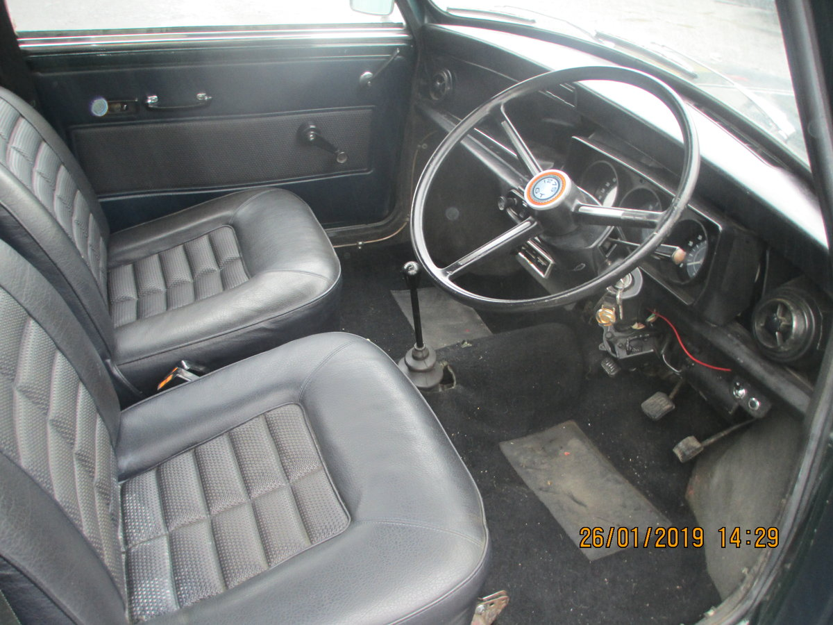 1972 MINI 1275 GT WITH 1275 REG NO SOLD (picture 4 of 6)