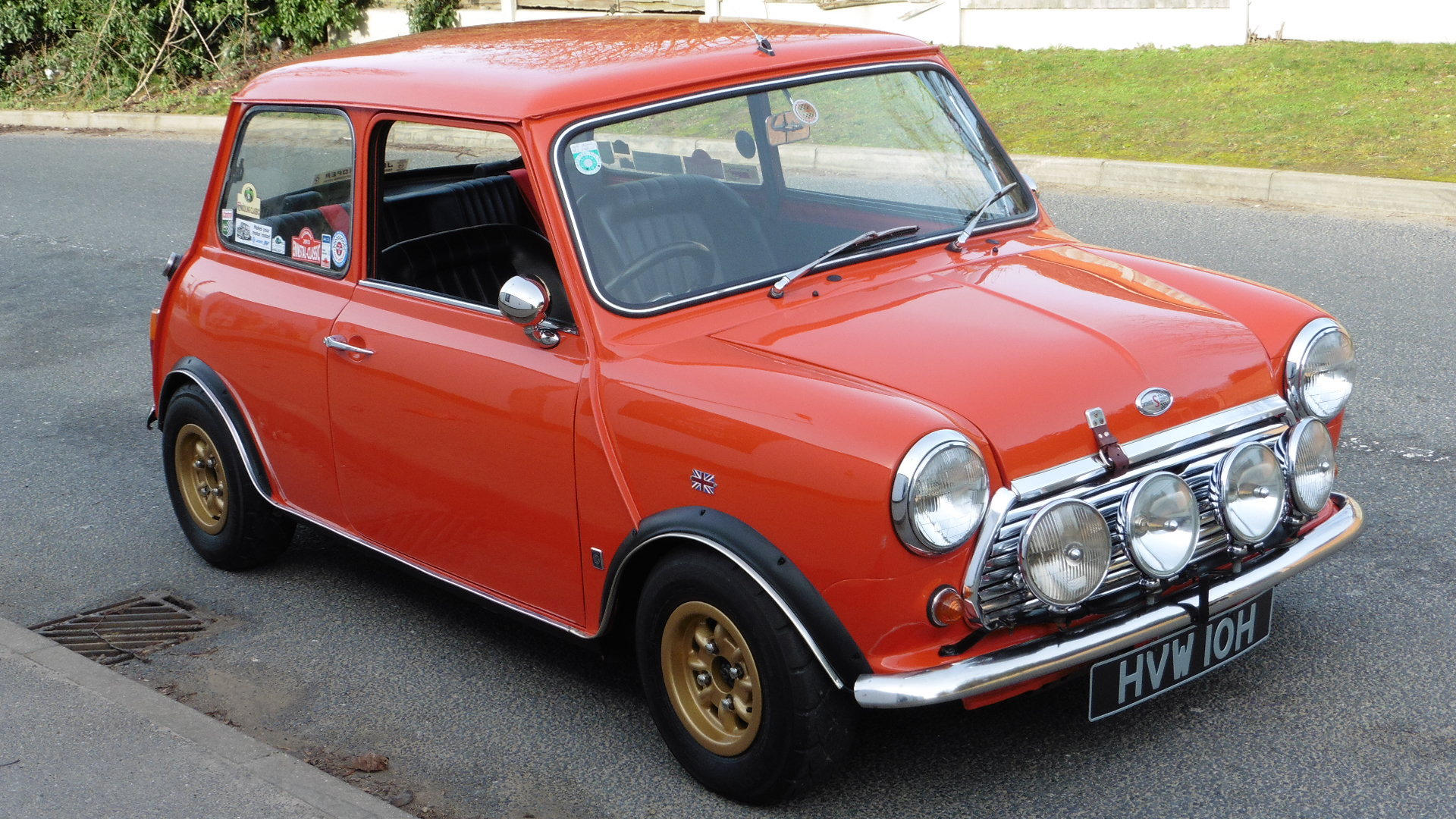 1970 Vortz Racing Morris Mini Cooper S MK3 Super Rare Exceptional For Sale (picture 3 of 6)