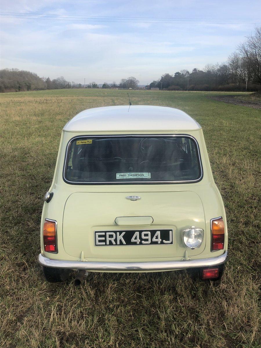 Austin Mini 1000cc 1971 Tax Free For Sale (picture 6 of 6)