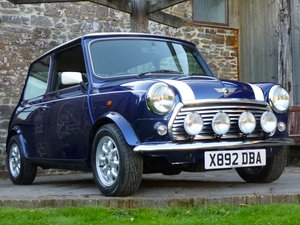 2000 'One Owner' Last Edition Mini Cooper On 16800 Miles From New For Sale