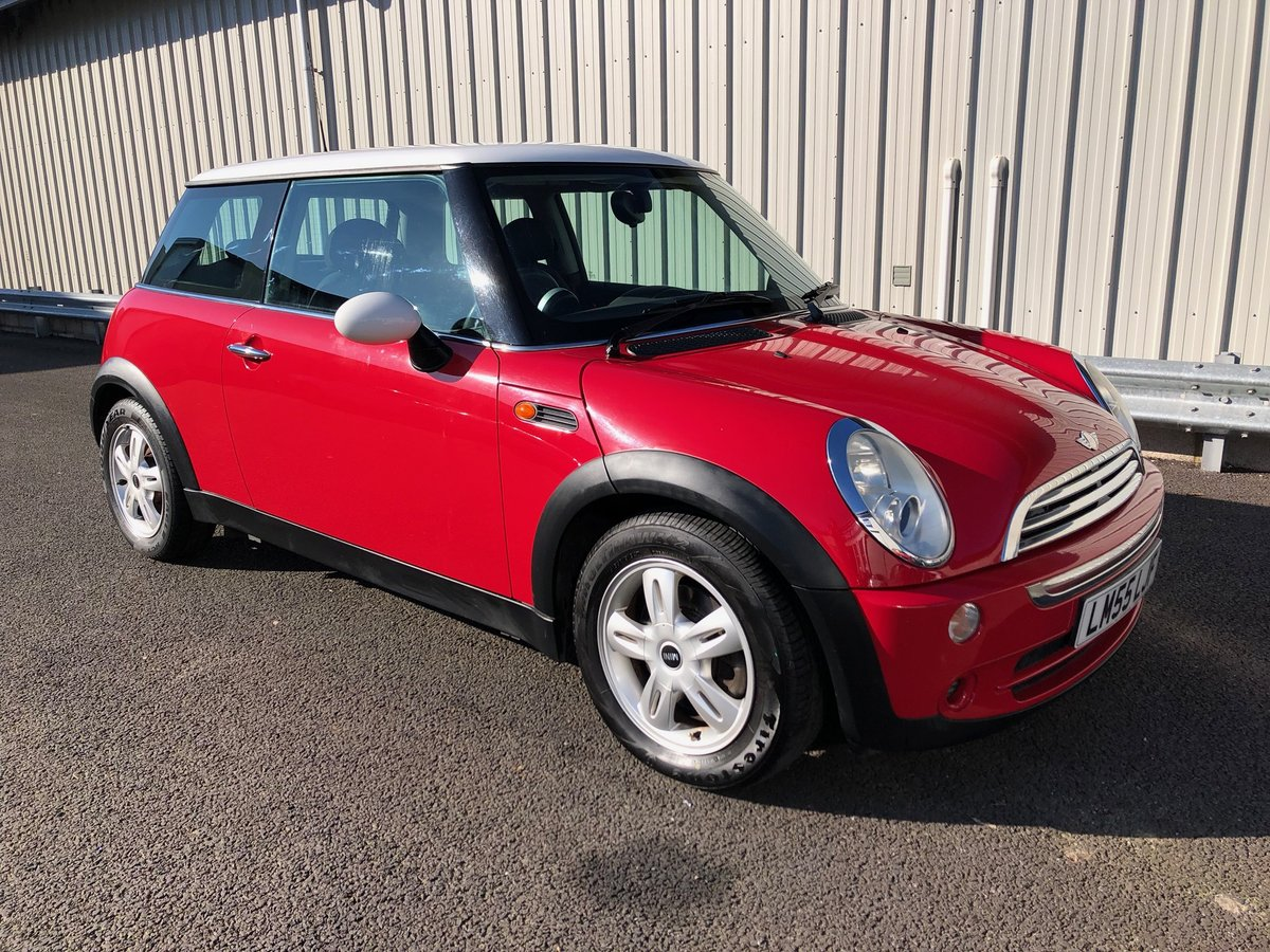 2006 55 MINI HATCH COOPER 1.6 114 BHP For Sale (picture 1 of 6)