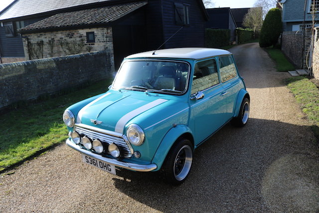 1998 Cooper Sport Finished In Rare Surf Blue SOLD (picture 2 of 6)