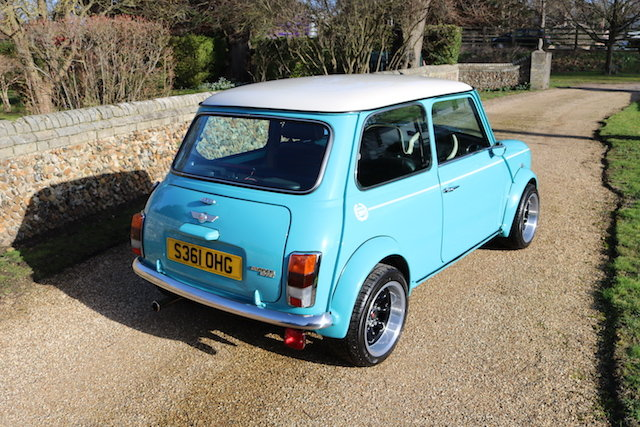 1998 Cooper Sport Finished In Rare Surf Blue SOLD (picture 4 of 6)
