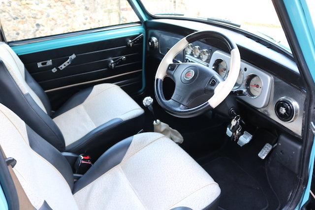 1998 Cooper Sport Finished In Rare Surf Blue SOLD (picture 5 of 6)