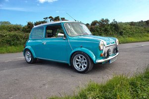 1997 Rover Mini Cooper MPi Surf Blue