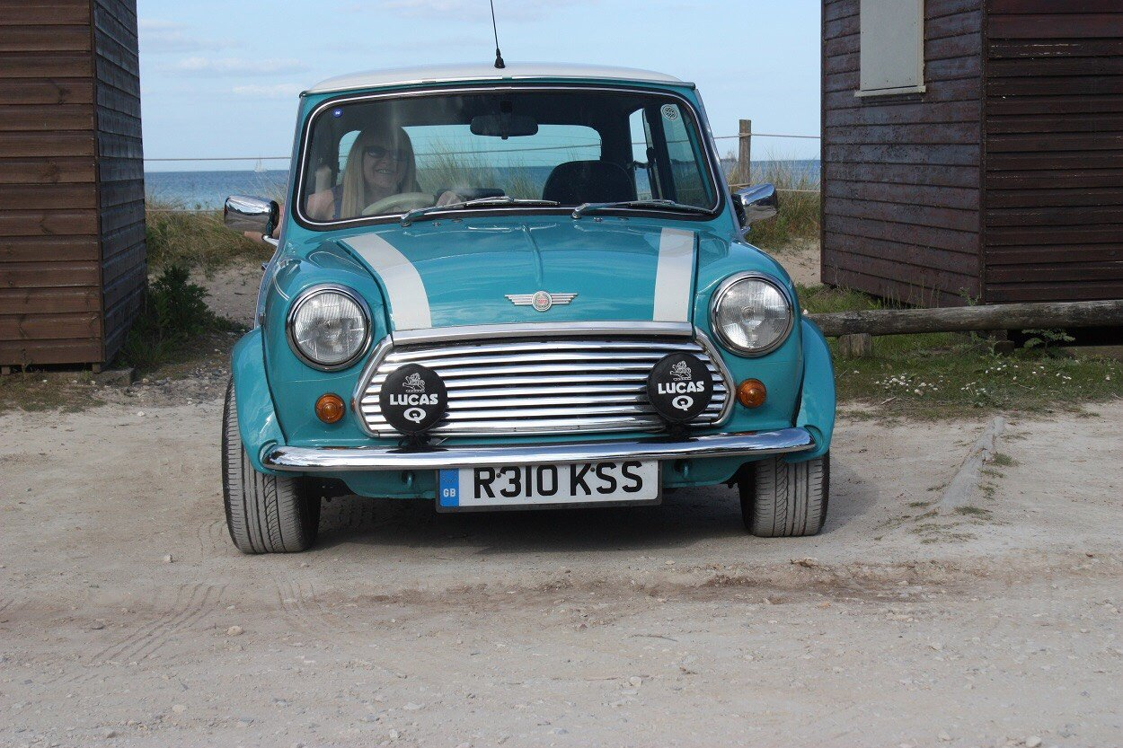 1997 Rover Mini Cooper MPi Surf Blue For Sale (picture 3 of 6)