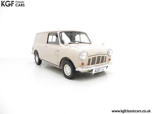 1963 A Fabulous Mk1 Morris Mini Van 850 Light Commercial