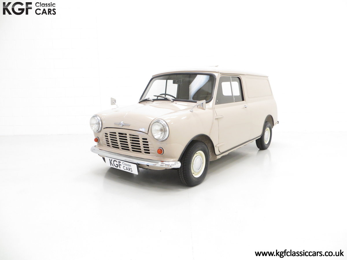 1963 A Fabulous Mk1 Morris Mini Van 850 Light Commercial SOLD (picture 2 of 6)