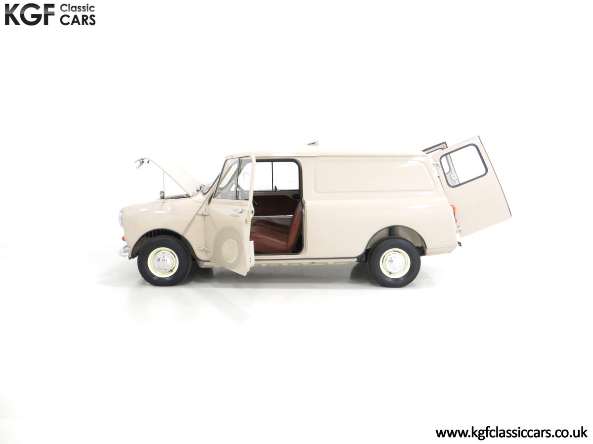1963 A Fabulous Mk1 Morris Mini Van 850 Light Commercial SOLD (picture 3 of 6)