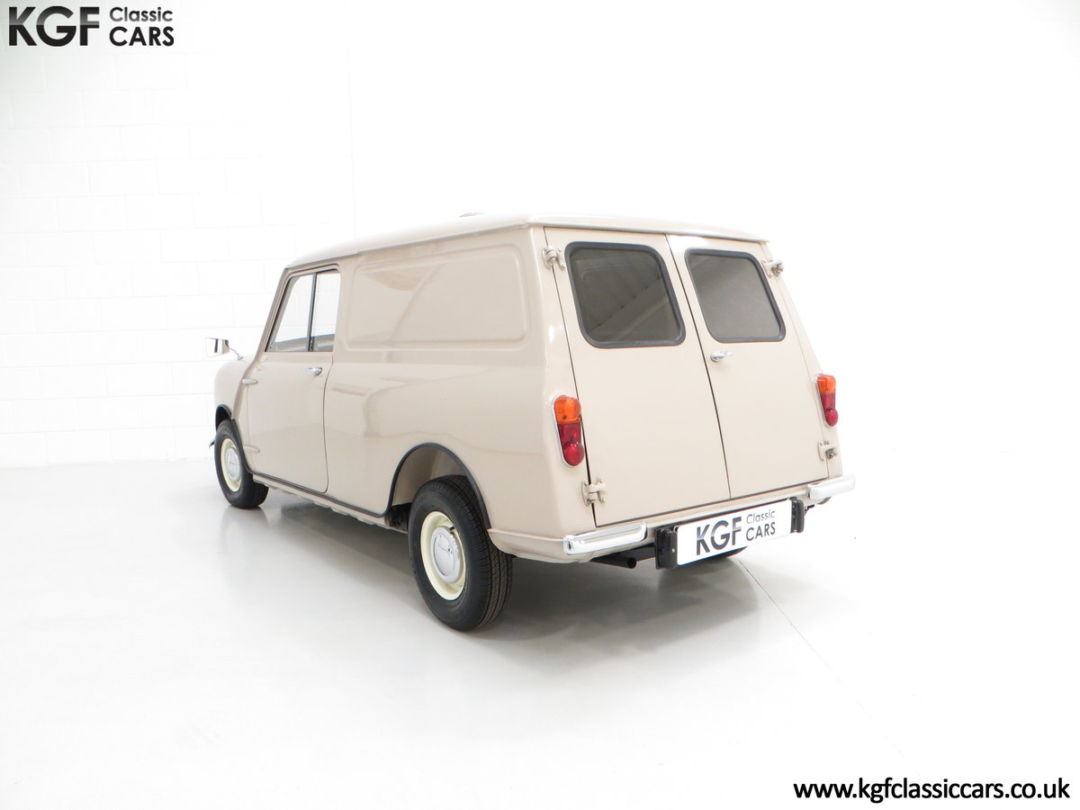 1963 A Fabulous Mk1 Morris Mini Van 850 Light Commercial SOLD (picture 4 of 6)