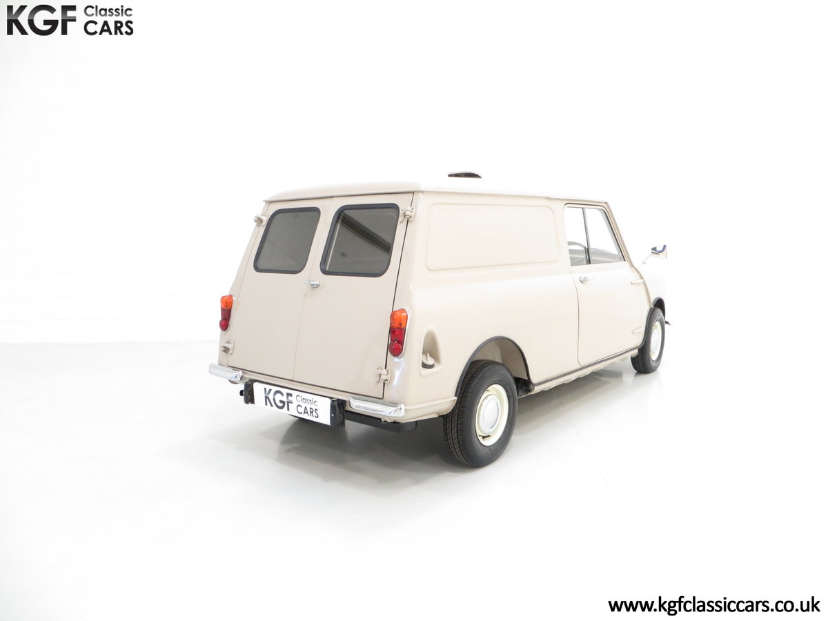 1963 A Fabulous Mk1 Morris Mini Van 850 Light Commercial SOLD (picture 5 of 6)