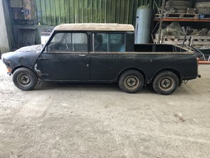 1965 Austin mini 6 wheel pickup For Sale by Auction