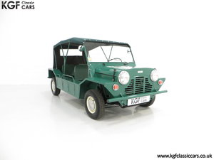1966 A Rare Matching Numbers British Built Mk1 Morris Mini Moke SOLD