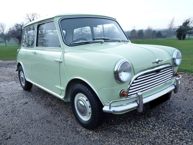 1963 Morris Cooper S (1071cc) For Sale (picture 1 of 6)