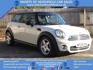 2009 Mini Cooper 1.6 D Diesel (Pepper/Salt) + Panoramic Roof For Sale