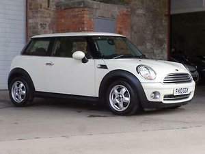 2010 Mini Hatch One 1.6 One 3DR For Sale