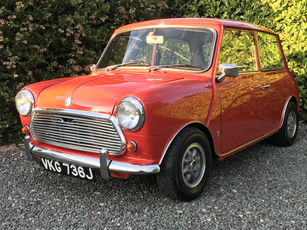 1971 Austin Mini Cooper S Re-creation Supercharged For Sale (picture 1 of 6)