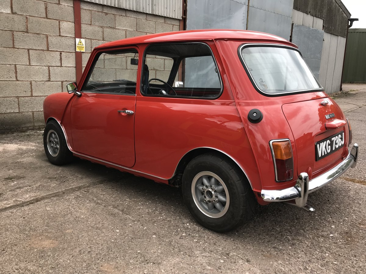 1971 Austin Mini Cooper S Re-creation Supercharged For Sale (picture 3 of 6)