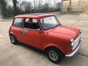1973 Mini Mk III - 35 years family ownership £7,000 - £9,000 For Sale by Auction